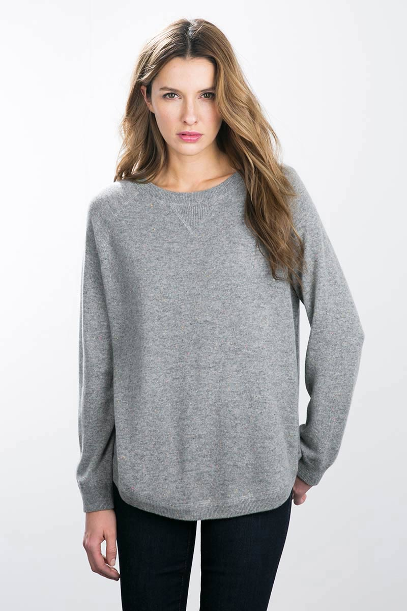 Oversized Sweatshirt - Kinross Cashmere