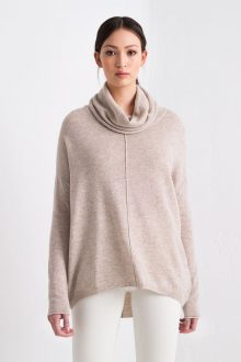 Slouchy Cowl Popover Kinross Cashmere 100% Cashmere