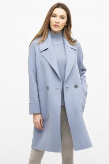 Notch Collar Coat - Kinross Cashmere