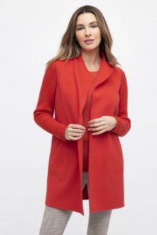 Rib Sleeve Coat - Kinross Cashmere