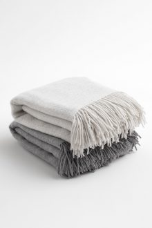 Texture Weave Throw - Kinross Cashmere