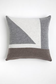 Intarsia Pillow Cover - Kinross Cashmere
