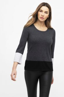 Worsed Colorblock Crew - Kinross Cashmere