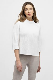 Crop Rib Funnel - Kinross Cashmere