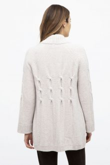 Luxe Cable Cardigan - Kinross Cashmere