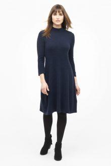 Mockneck Dress - Kinross Cashmere