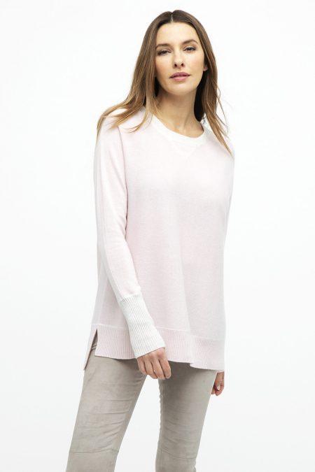 Hi Low Sweatshirt - Kinross Cashmere