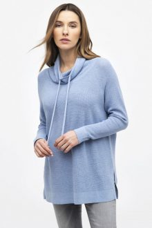 Thermal Mock Pullover - Kinross Cashmere