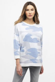 Reversible Camo Pullover - Kinross Cashmere