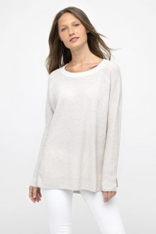 Easy Thermal Pullover - Kinross Cashmere