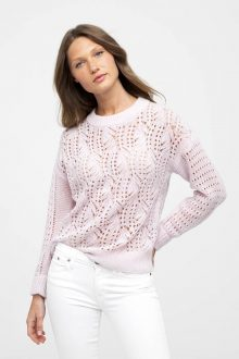 Openwork Pullover - Kinross Cashmere