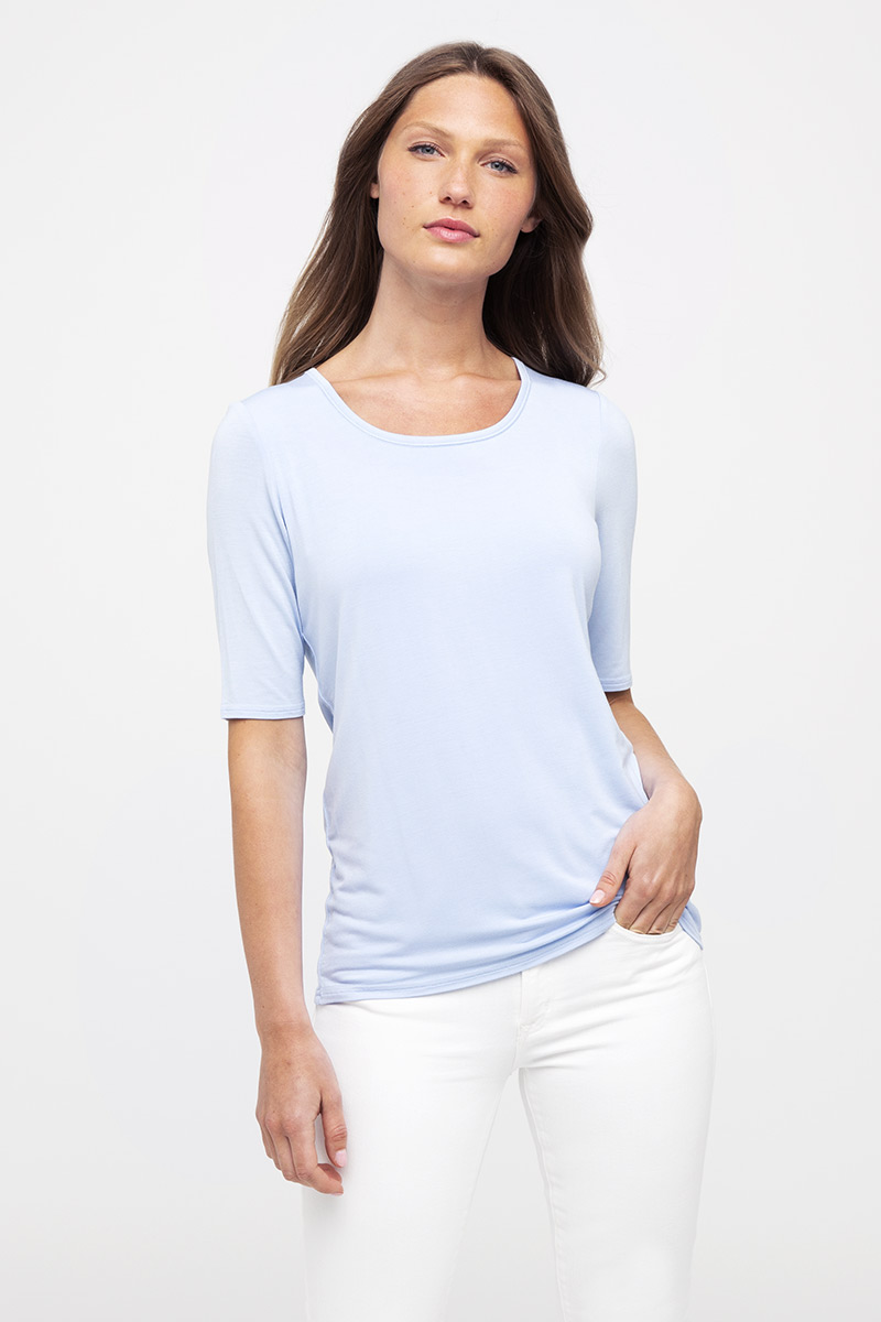 Elbow Sleeve Scoop - Kinross Cashmere