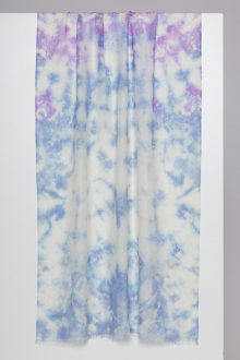 Tie Dye Print Scarf - Kinross Cashmere