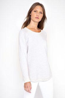 Reversible Wave Sweatshirt - Kinross Cashmere