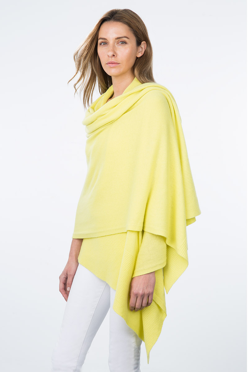 Kinross Cashmere | Resort 2015 | Cashmere Travel Wrap