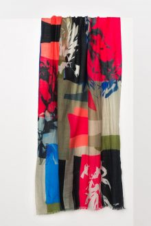 Matisse Print Scarf Kinross Cashmere 100% Cashmere