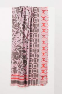 Patchwork Print Scarf Kinross Cashmere
