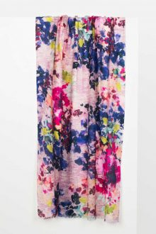 Camille Floral Print Scarf Kinross Cashmere