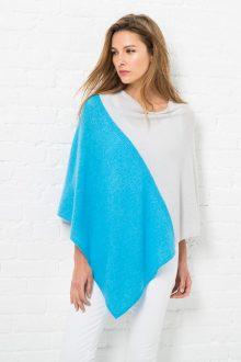 Ponchos & Wraps - Resort 2016 - Kinross Cashmere 100% Cashmere