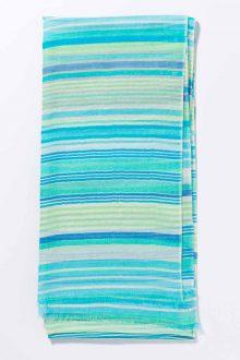 Kinross Cashmere | Spring 2016 | Printed Stripe Scarf