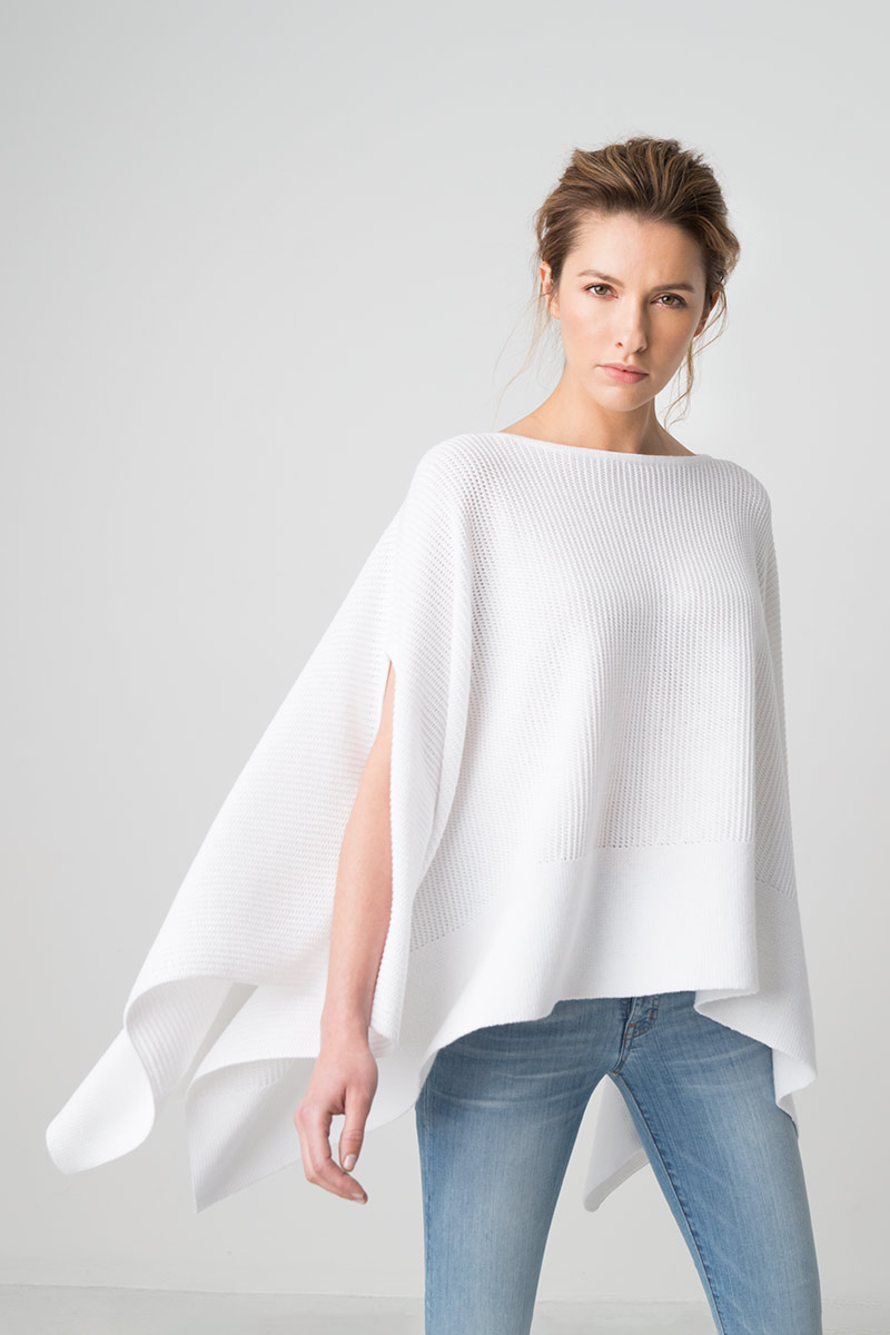 CASHMERE PONCHOS & WRAPS - RESORT 2017 · TEXTURED PULLOVER PONCHO