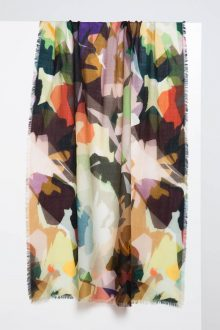 Glamo Camo Print Scarf - Kinross Cashmere
