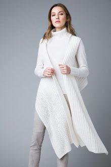 Multi-Wear Rib Vest - Kinross Cashmere