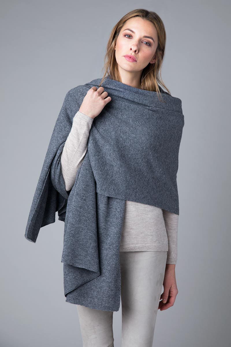 FWT Jersey Travel Wrap - Kinross Cashmere