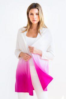 Pleated Back Dress Kinross Cashmere 100% Cashmere