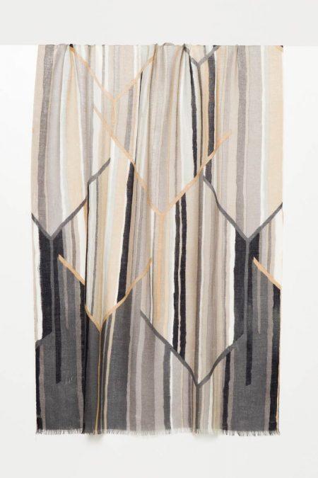 Prism Print Scarf - Kinross Cashmere