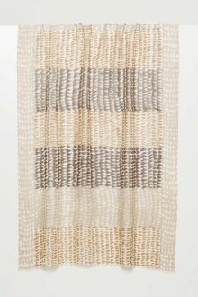 Ombre Geo Print Scarf - Kinross Cashmere
