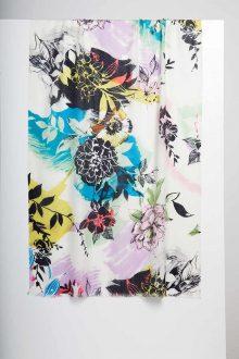 Monterossa Print Scarf - Kinross Cashmere