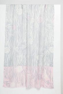 Cortina Rose Print Scarf - Kinross Cashmere