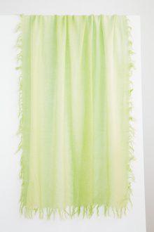 Spray Print Scarf - Guava - Kinross Cashmere