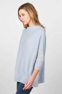 Easy Textured Pullover Kinross Cashmere 100% Cashmere