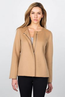 Zip Short Jacket Kinross Cashmere