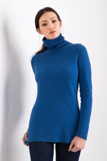Fitted Turtleneck Kinross Cashmere 100% Cashmere