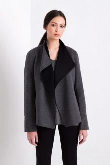 Reversible Jacket Kinross Cashmere 100% Cashmere