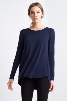 Tunic w/ Pleat Back Kinross Cashmere 100% Cashmere