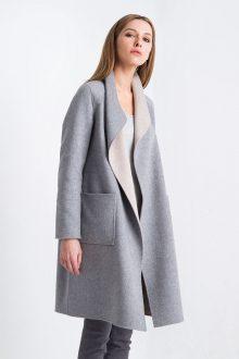 Reversible Drape Coat Kinross Cashmere 100% Cashmere
