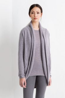 Easy Circle Cardigan Kinross Cashmere 100% Cashmere