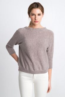 Front to Back Cardigan Kinross Cashmere 100% Cashmere