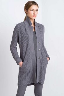 Notch Collar Duster Kinross Cashmere 100% Cashmere