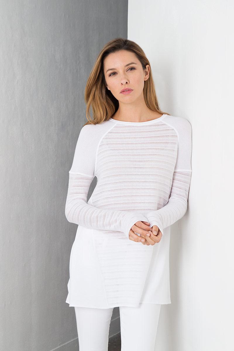 Women's 100% Fine Gauge Cotton - Spring 2017 - Kinross Cashmere