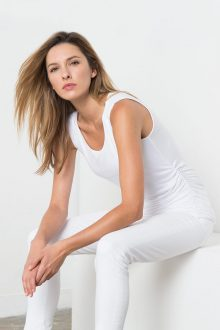 Women's Tees - Spring 2017 - Kinross Cashmere 100% Cashmere