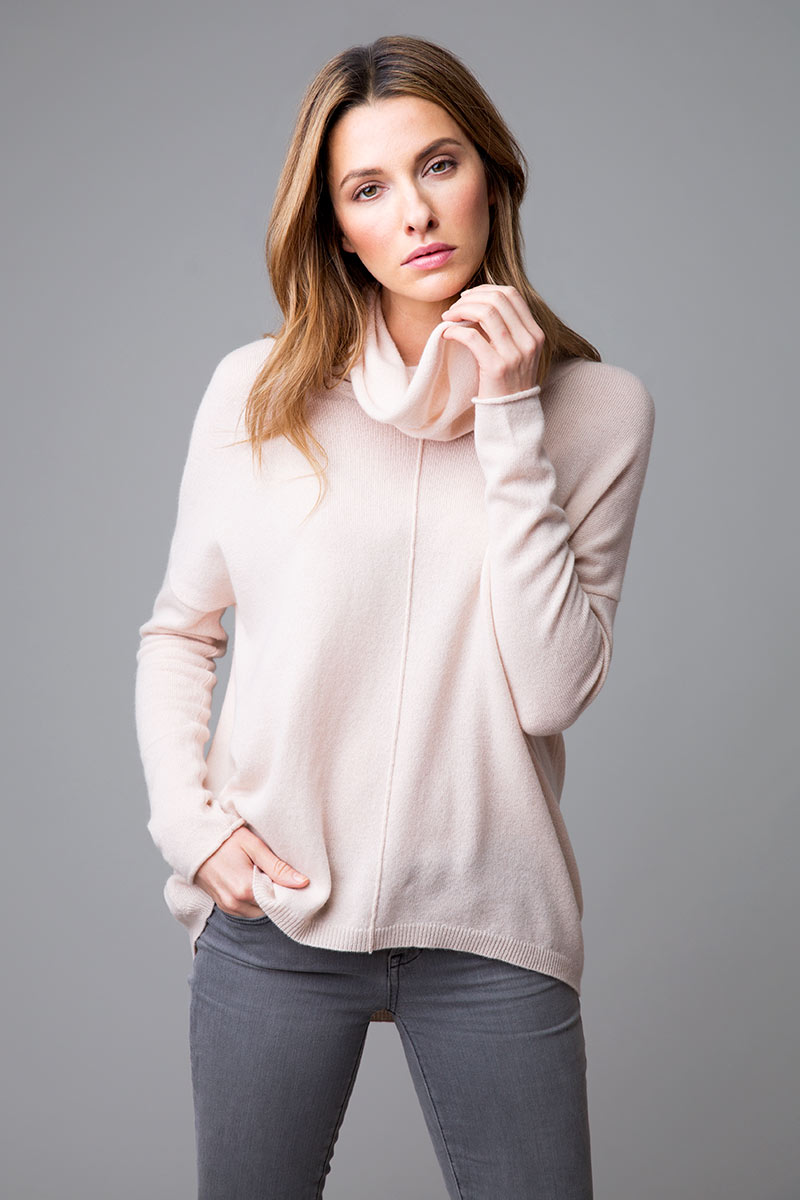 Exposed Seam Popover - Kinross Cashmere