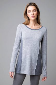 Mixed Yarn Swing Top - Kinross Cashmere