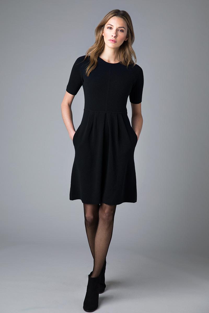 Tailored Dress - Kinross Cashmere
