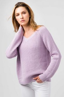 Front to Back V Cardigan - Kinross Cashmere