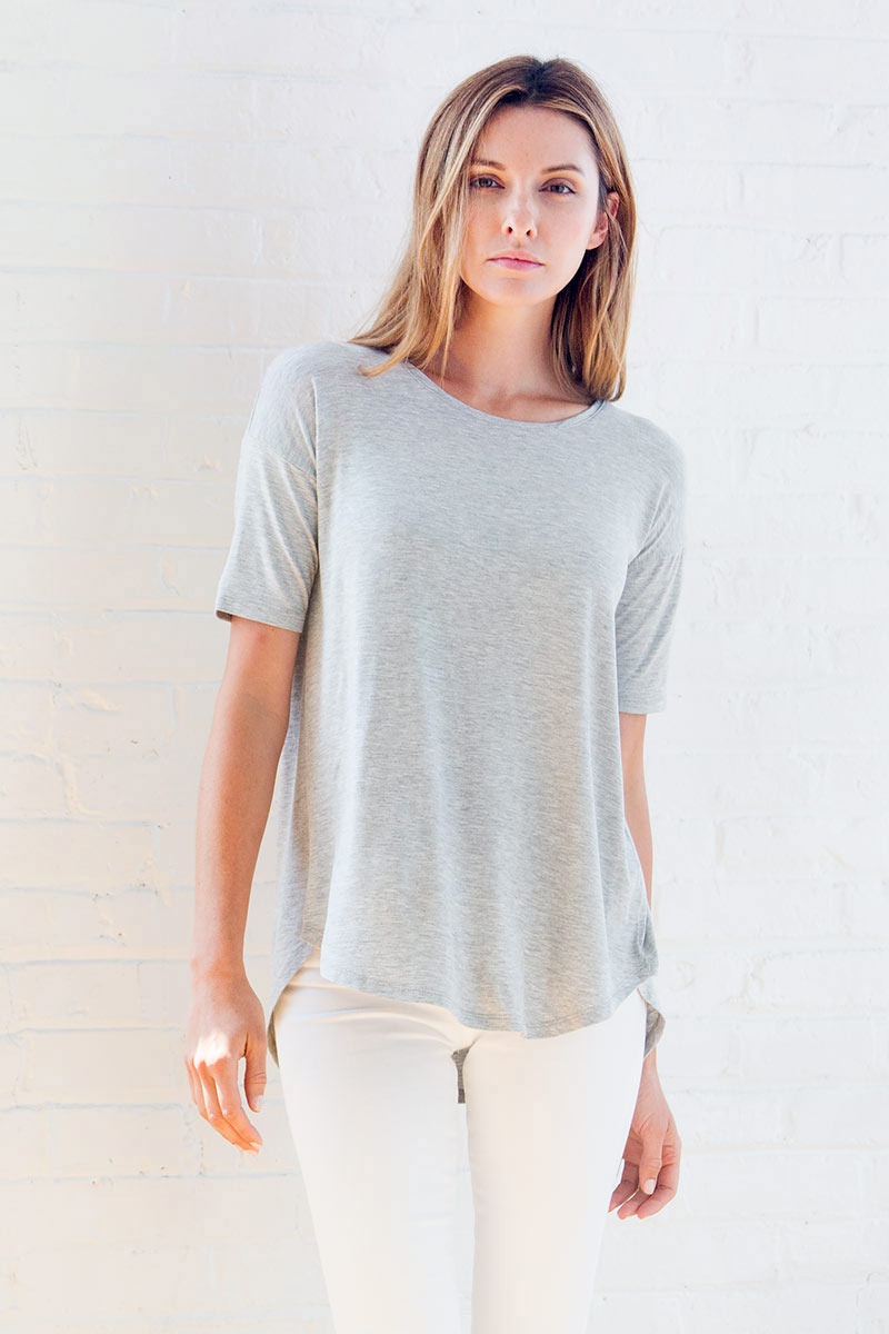Women's Tees - Spring 2018 - Kinross Cashmere - 100% Cashmere